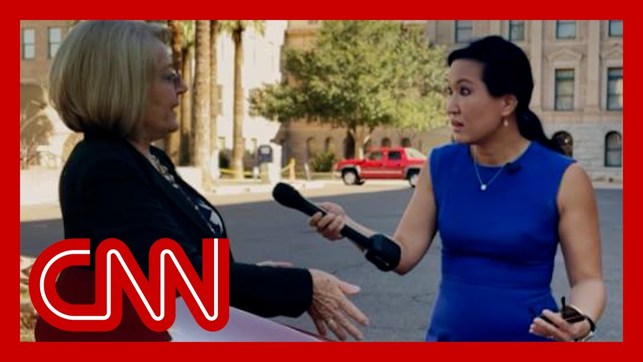 Download CNN confronts woman behind bogus Arizona election audit