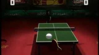 Rockstar Table Tennis Big Racket
