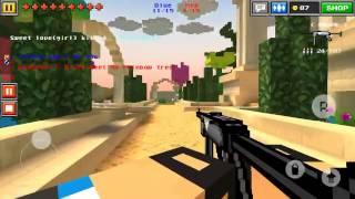 Pixel Gun 3D team battle heaven garden