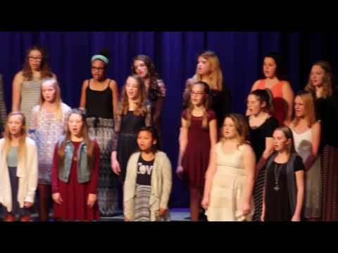 Eldon Middle School choir concert 3 13 17