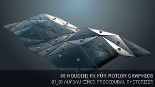 Houdini MoGraph - Rasterizer - 01_01 Aufbau eines procedural Rasterizers (dt)