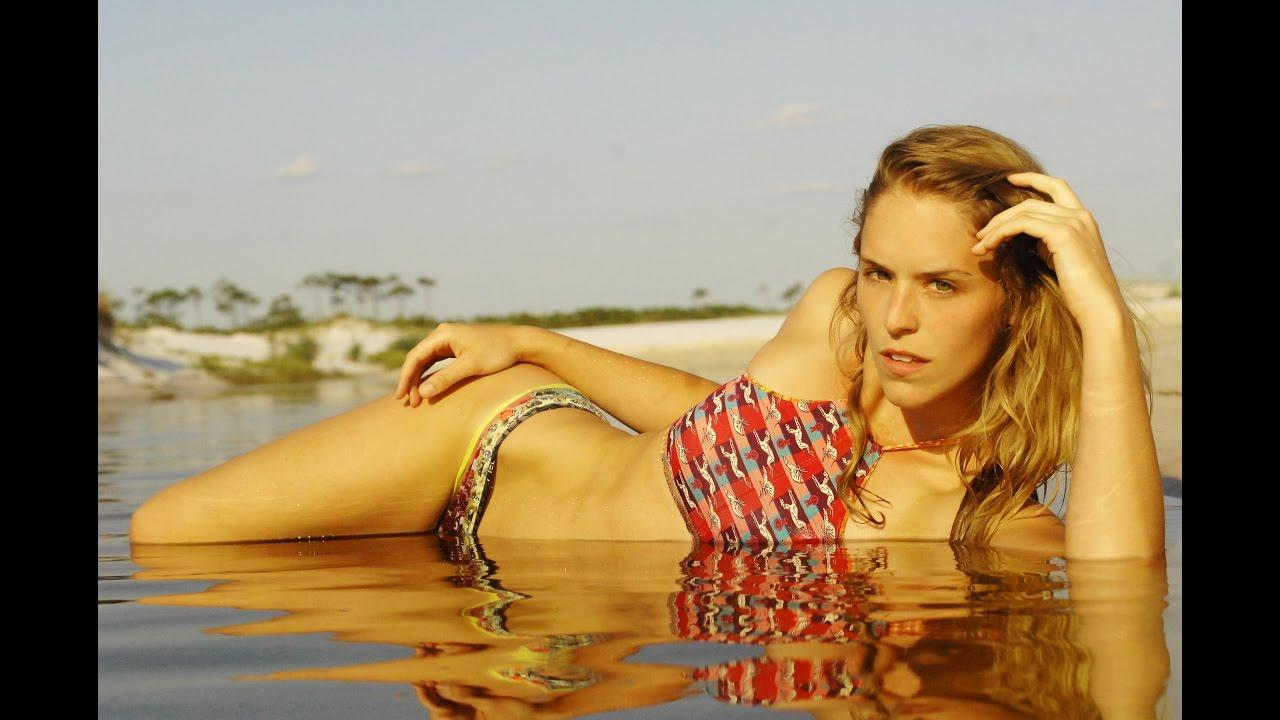 Sexy yogi photo shoot on the beach with bikini model Keegan Wheeler | Ep. 8