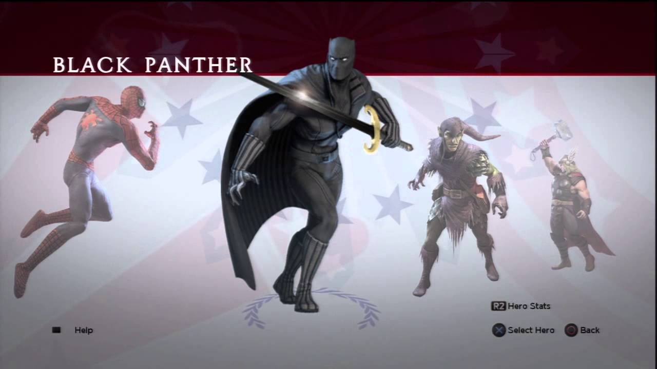Marvel ultimate alliance characters sorry