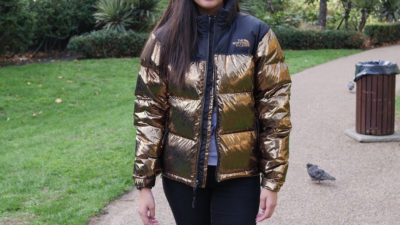 8b05969c3 The North Face Womens 1996 Nuptse Jacket 'Metallic Copper' Quick Look