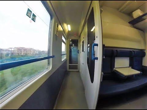Intercity notte gli interni delle cuccette c4 comfort for Alloggio ad ovest delle cabine