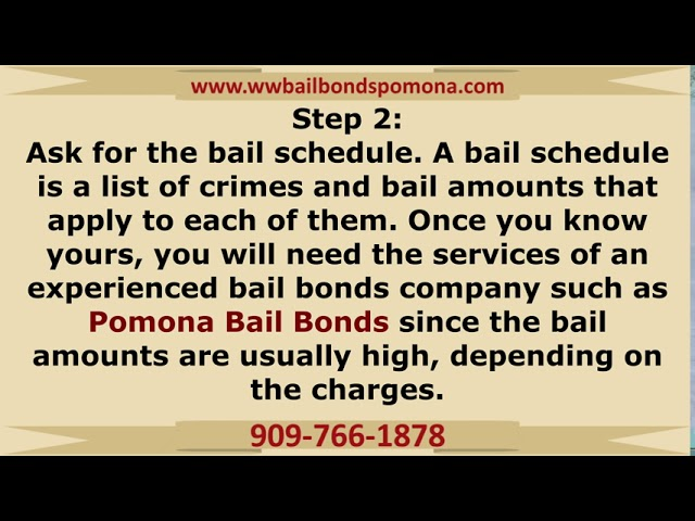 How bail bonds work in Pomona, CA!