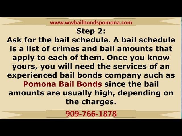 How bail bonds work in Pomona, CA!