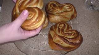 Рецепт Плюшек С Сахаром