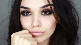 seductive and smokey eye makeup tutorial