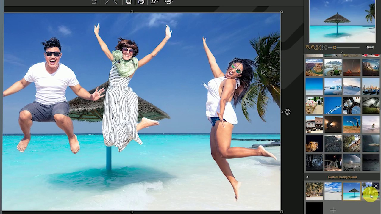 official] InPixio Photo Cutter for PC | Remove a background photo