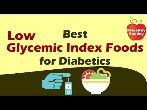 Best Low Glycemic Index Foods for Diabetics