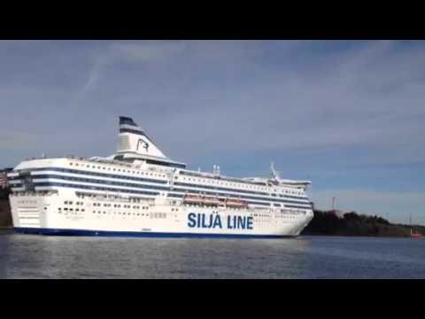 Silja Serenade åker till Helsingfors