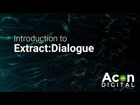 Introduction to Extract:Dialogue