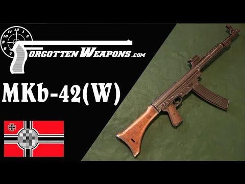 MKb-42(W) – The Sturmgewehr That Never Was – Forgotten Weapons