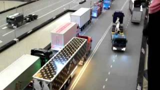 Atomic RC Carpet Track - Tamiya Tractor Trailers & Custom buses 3
