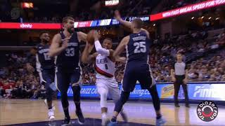 Portland Trail Blazers vs Memphis Grizzlies - Full Game Highlights - November 20, 2017
