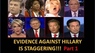 Evidence Against Hillary Is Staggering!! She Can
