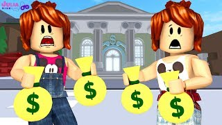 Roblox - DEU RUIM NO BANCO (Crazy Bank Heist Obby)