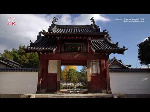 "4K KYOTO [viewTV-101] 黄檗山萬福寺  Obaku-san Manpuku-ji ""The Greatest Chinese-style Temple in Japan"""
