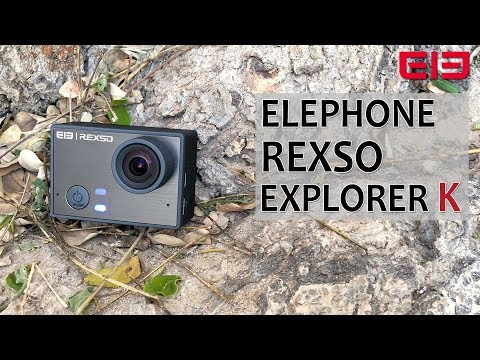 No more Shaky Action Videos - Elephone REXSO Explorer K Review Footage Underwater