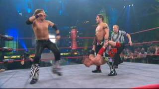 Alex Shelley vs. Amazing Red vs. Jeremy Buck