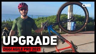 Upgrade Oggi Agile Pro 2021 para Prova - Mountain Bike   Café na Trilha