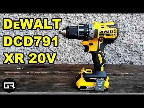 TALADRO DEWALT XR 20V DCD791