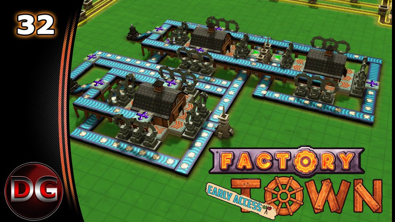 Factory Town – Let's Play! – Magical power problems – Ep 32
