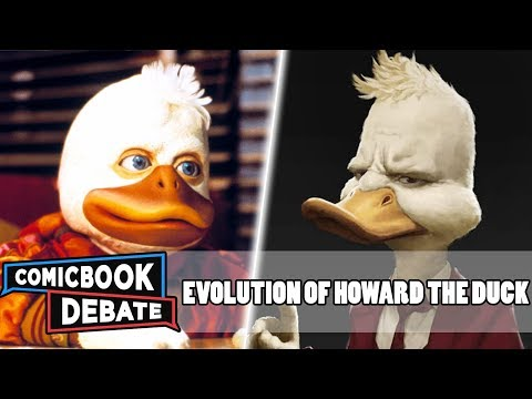 Evolution Of Howard The Duck In Cartoons, Movies & TV In 4 Minutes (2019)