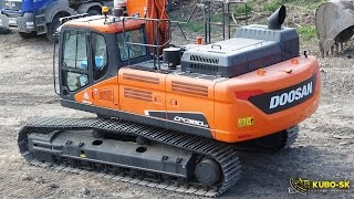Video still for New Doosan DX380LC-5 - excavator walkaround