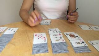 ASMR cards playing