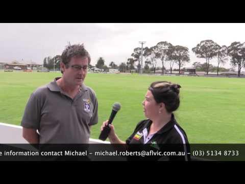 Michael Roberts - AFL KickStart Program in Morwell