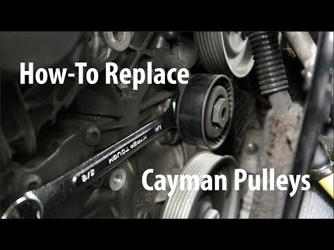 How To Replace Porsche Cayman Pulleys