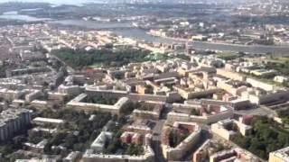 Питер вид с вертолета Санкт-Петербург вертолёт красивый вид красотища