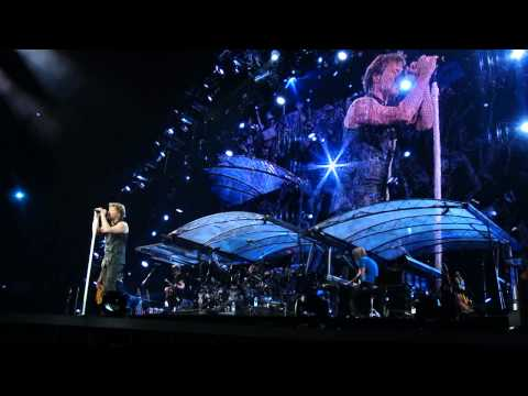 ALWAYS - JON BON JOVI - LIve In Bucharest 2011, HD, Front Row, Lyrics