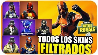 NEW FORTNITE SKINS *FILTRATED* BAILES, PICOS, MOCHILAS AND MORE... Fortnite Battle Royale