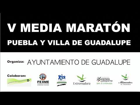 V Media Maratón Guadalupe 2018