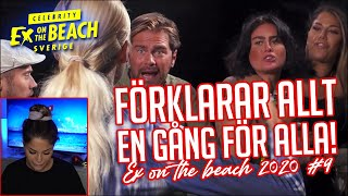 REAGERAR PÅ EX ON THE BEACH | EP 9 *PRATAR UT OM MIN MEDVERKAN*