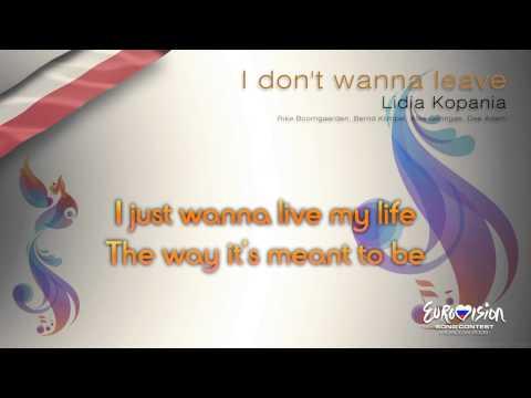 "Lidia Kopania - ""I Don't Wanna Leave"" (Poland) - [Karaoke version]"