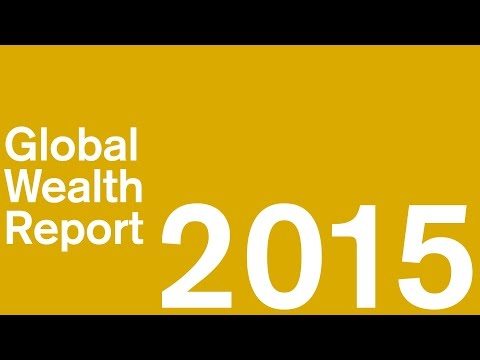 Credit Suisse Research Institute Global Wealth Report 2015