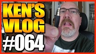Ken's Vlog #64 - Suzuki Repairs, Red Lobster Pizza, New Audio Recorder & Editing Popeye's Video