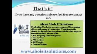 Best SEO and Web Design Company India | Abols IT Solutions