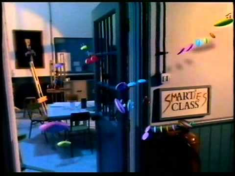 Smarties Werbung Schule 1992