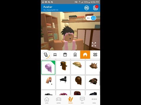 how to get free hair on roblox 2017