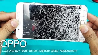OPPO  F1/ F1s -Broken LCD Screen +Touch Digitizer Glass Combo Replacement