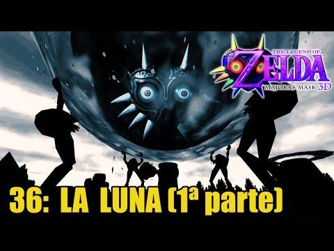 The Legend of Zelda: Majora's Mask 3D #36 - La Luna (1ª parte) - Guía 100% español