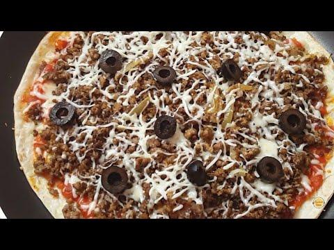 pizza-facile-en-10-minutes-sans-pâte-et-sans-four