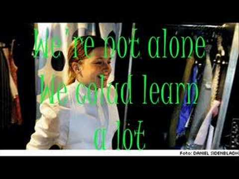 Amy Diamond We Could Learn A Lot-Karaoke (With Lyrics)
