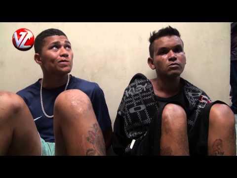 Dois suspeitos presos com arma e drogas
