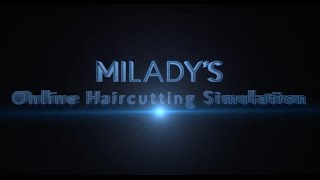 Online Haircutting Simulation
